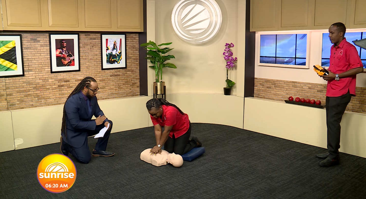 """CPR Week: """"Keep Pumping"""" with Heart Foundation"""