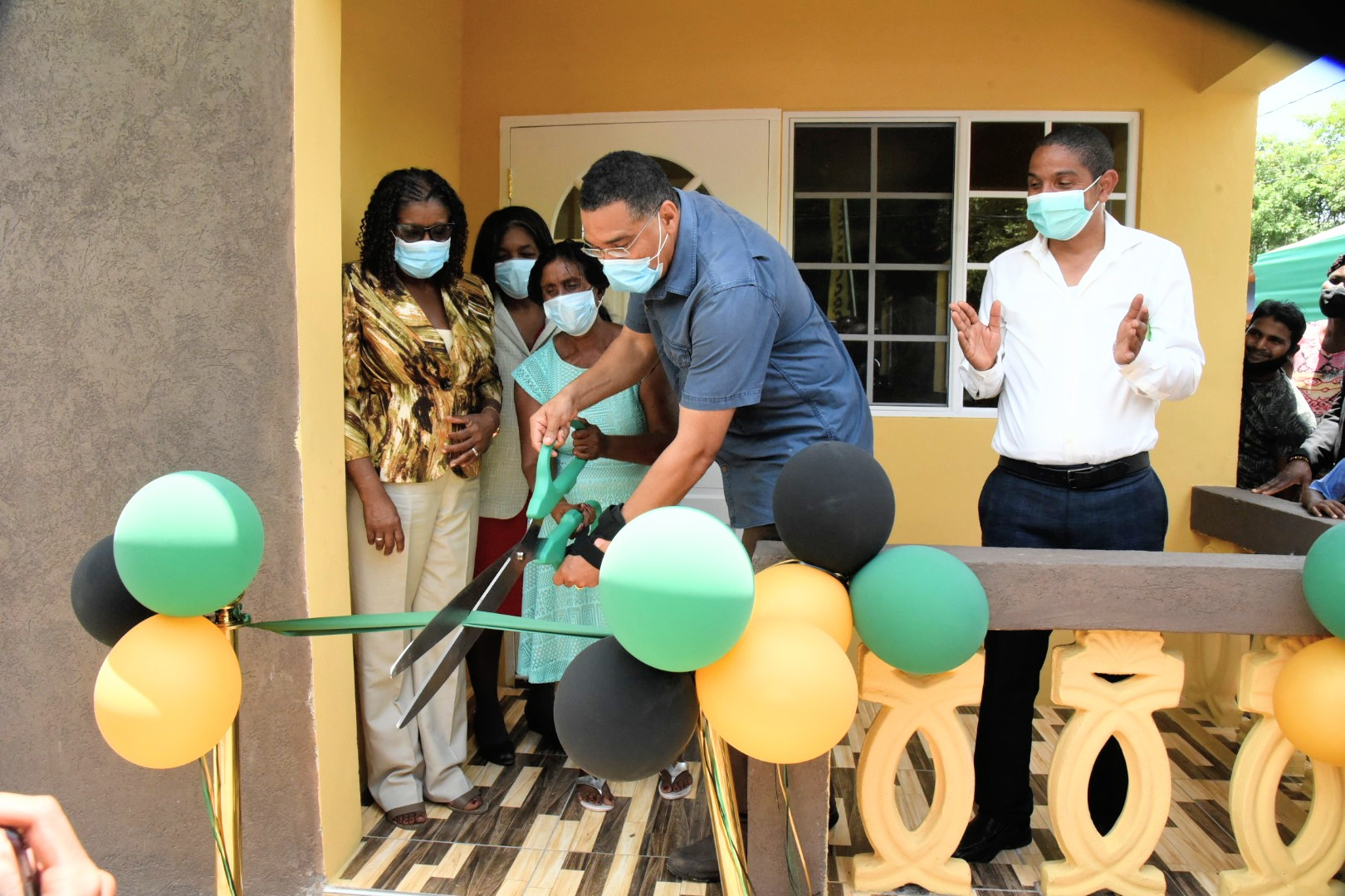 PM Holness: $400M More for Indigent Housing