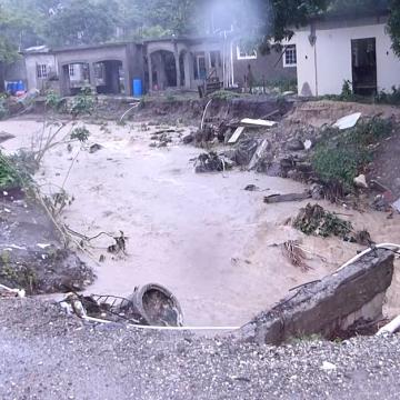 Tropical Storm Grace Devastates Eastern Parishes