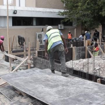 Field Hospital Underway At University Hospital of West Indies