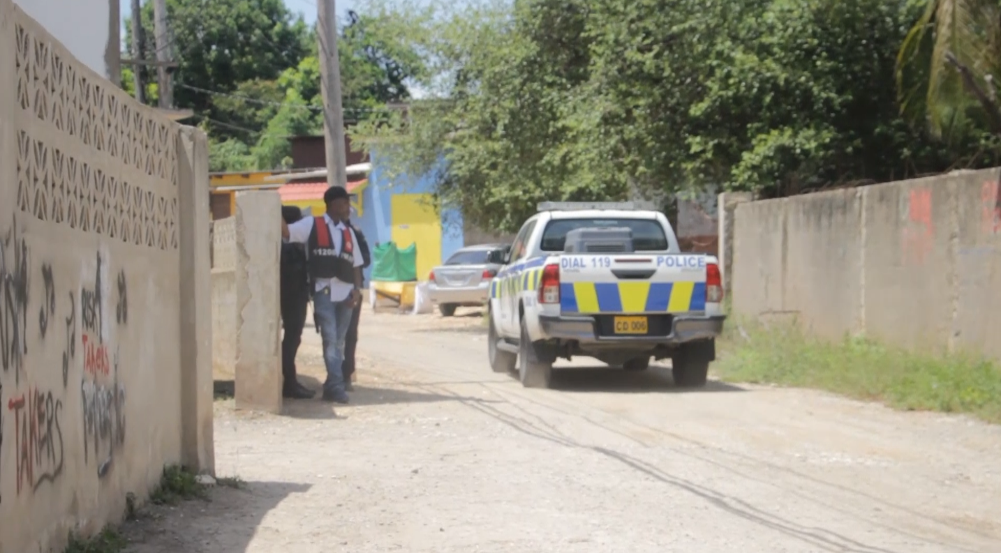 Intense Police Operations in Shelter Rock, St. Catherine
