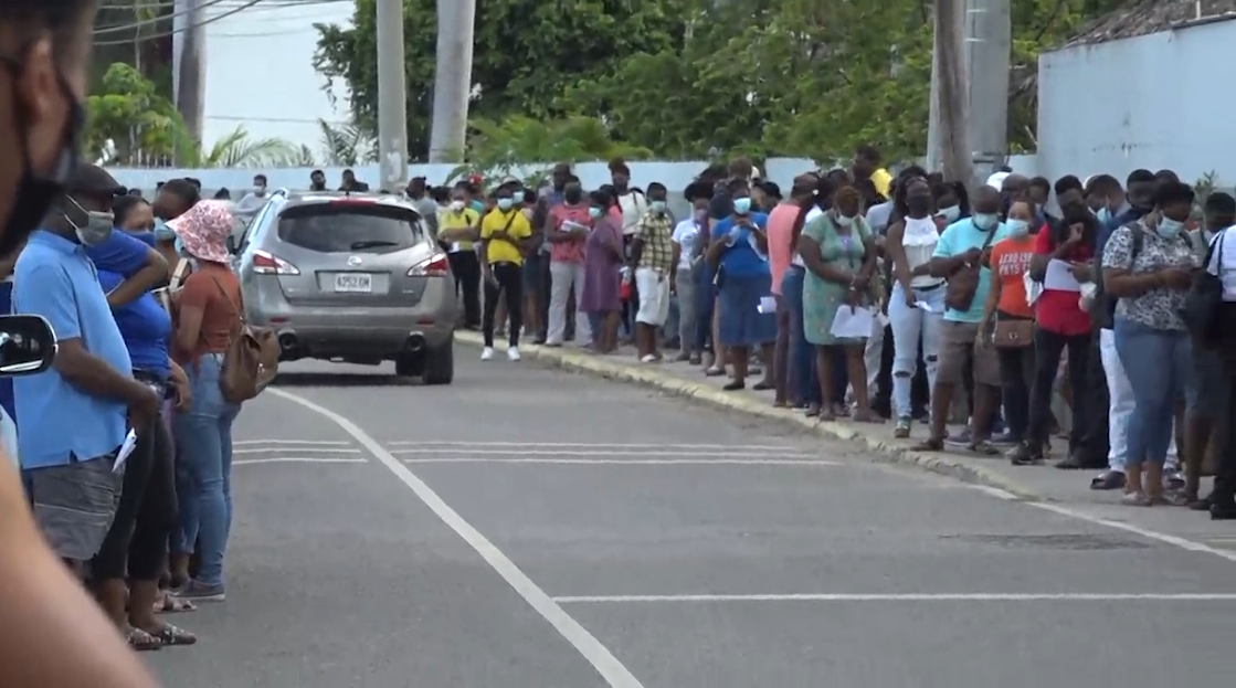 Unprecedented Turnout at Vaccination Blitz in St. James