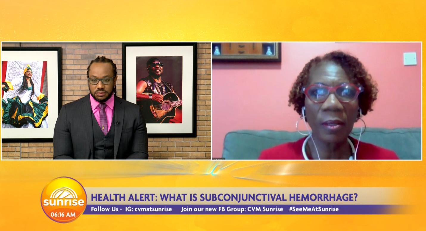 Talking Subconjunctival Hemorrhage with Dr. Angela Mattis