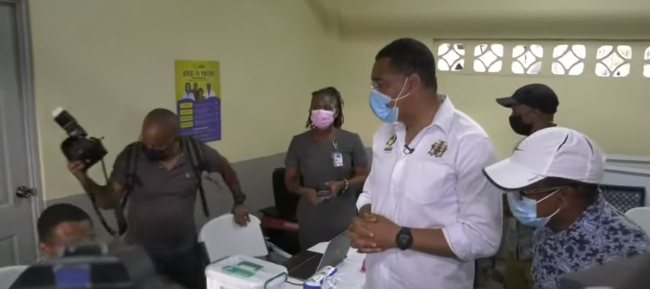 PM Holness Ramps up Vaccine Education Campaign